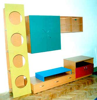 "Furniture Design in Apartment ""Tera"""