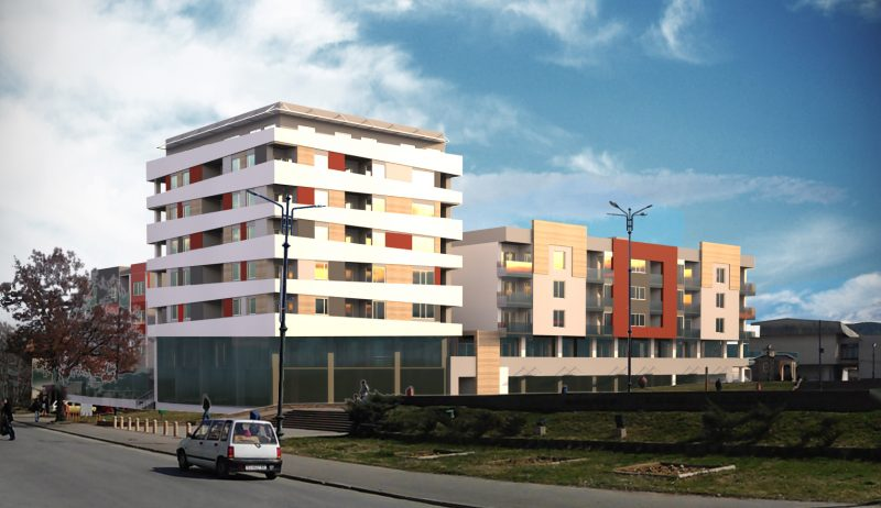 "Residential and commercial building ""Hipoks"" Vinica"