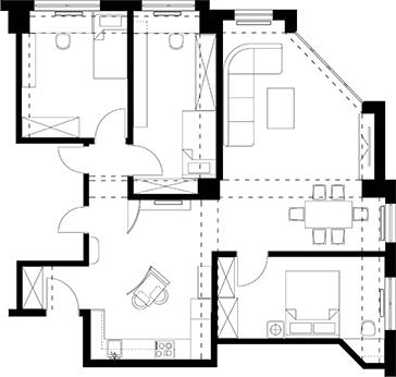 Apartment in Kisela Voda